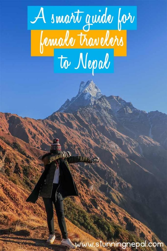 A smart guide for female travelers to Nepal