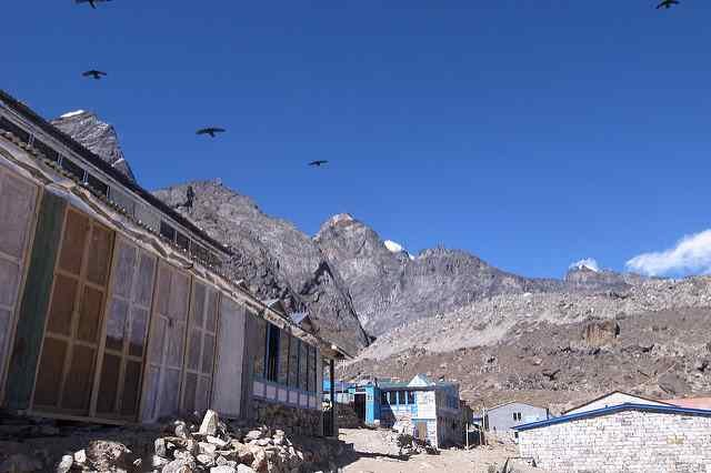 Accommodation at Lobuche