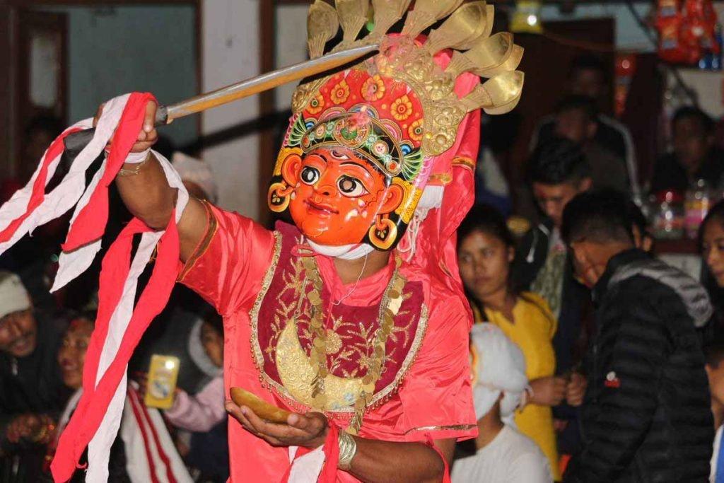 Nepali Cultural Lakhe Dance