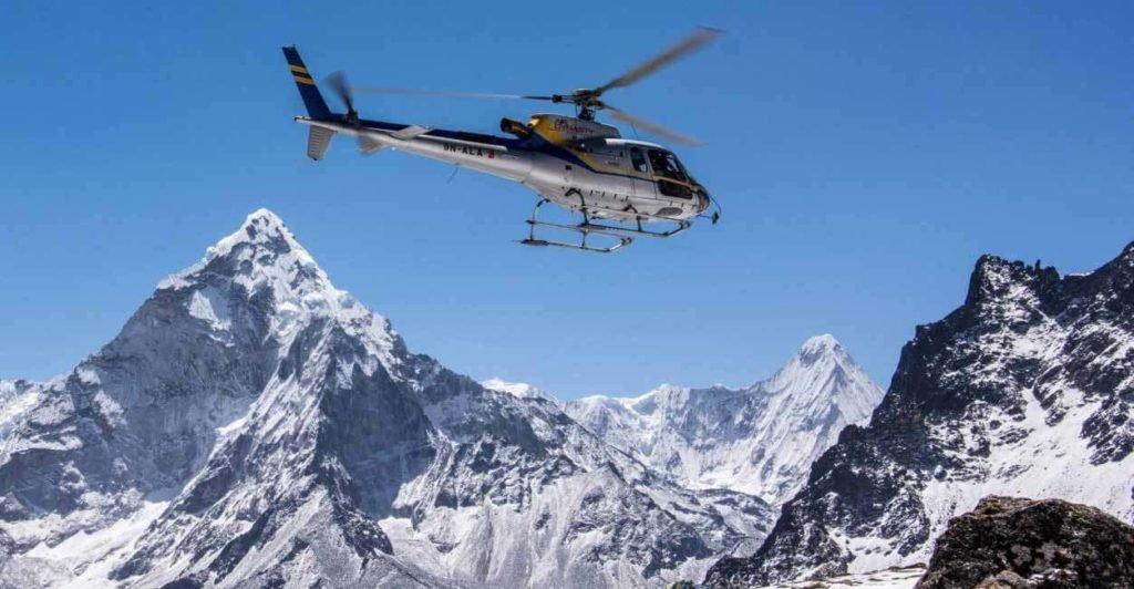 EBC Helicopter Tour