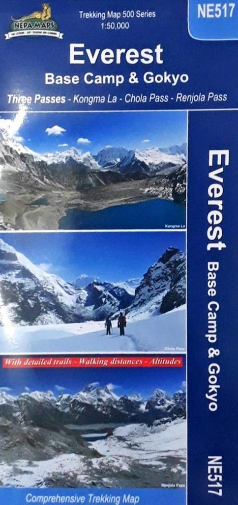 Everest Base Camp and Gokyo Offline Map