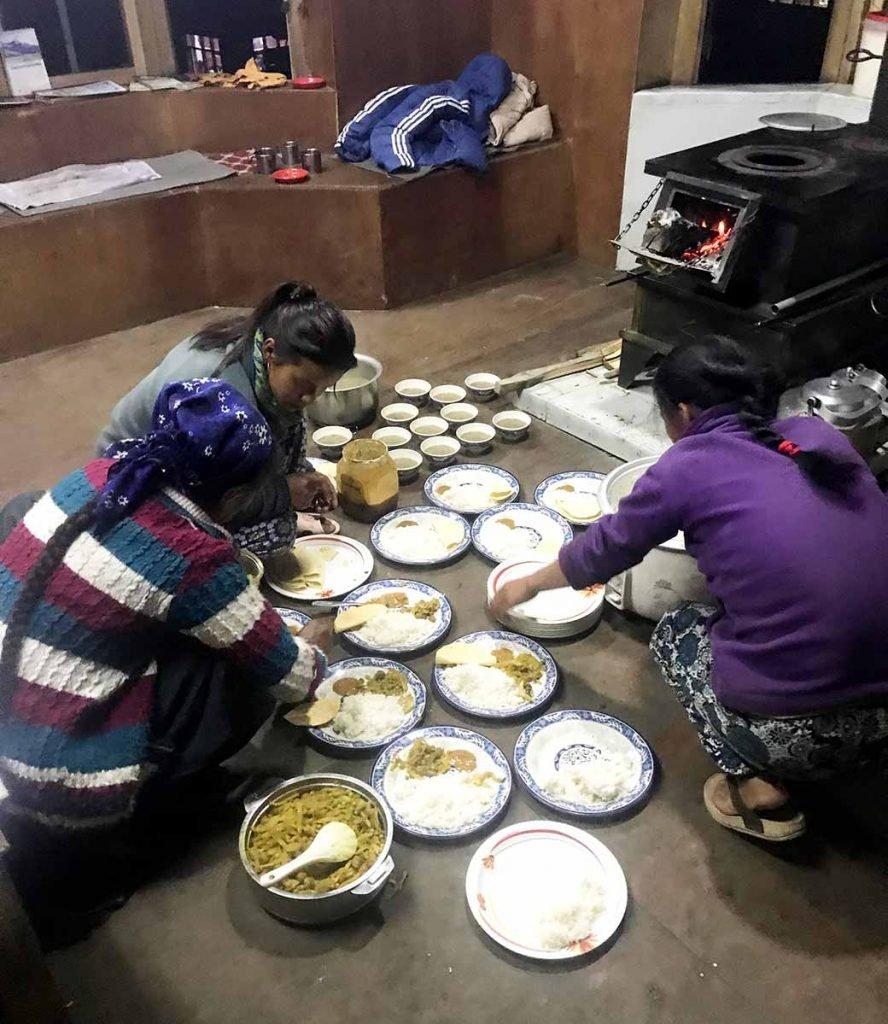 Langtang Valley Trek Meals