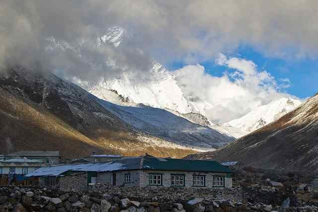 Accommodation at Dingboche