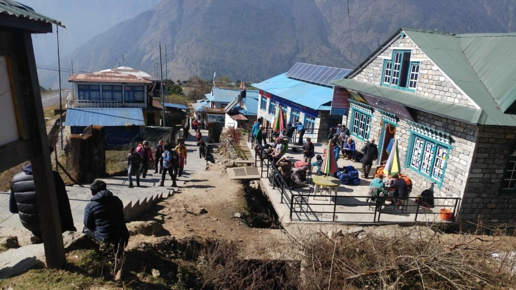 Accommodation at Lukla