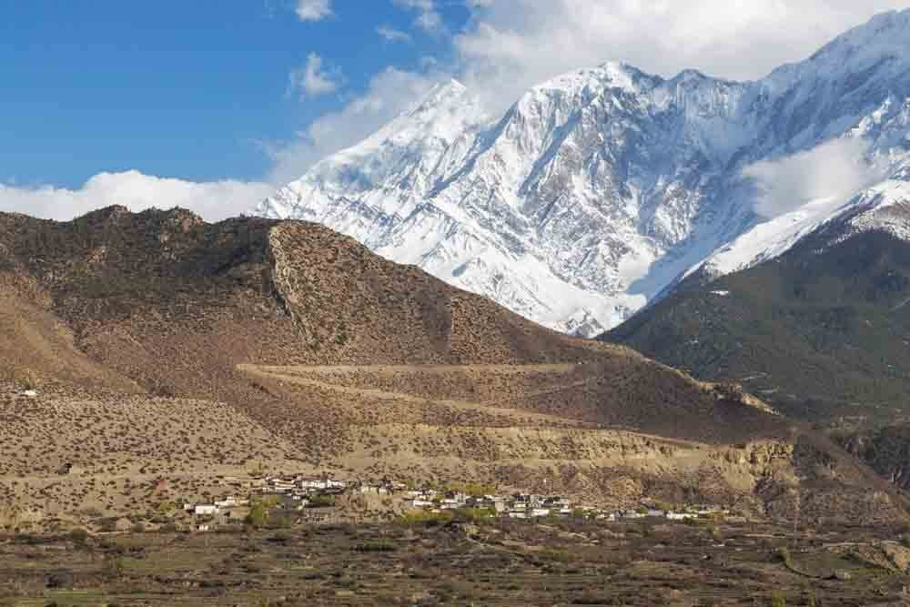Jomsom Hill Stations in Nepal