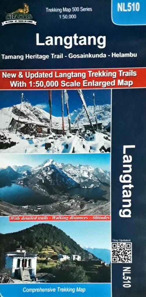 Langtang Valley Trek Offline Map