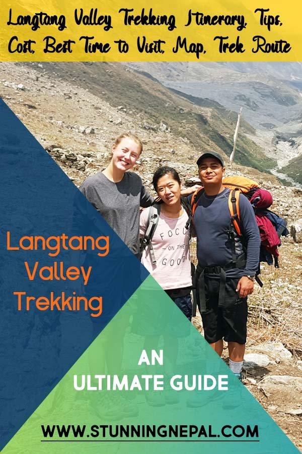 Langtang Valley Trekking Detail Guide Pinterest