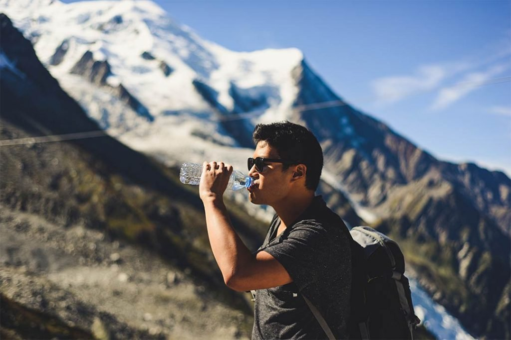 Stay Hydrated while ebc trekking