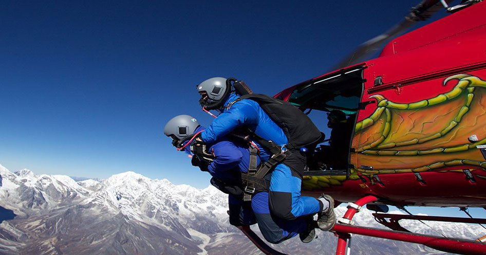 Skydiving in Nepal - Things to do in Nepal