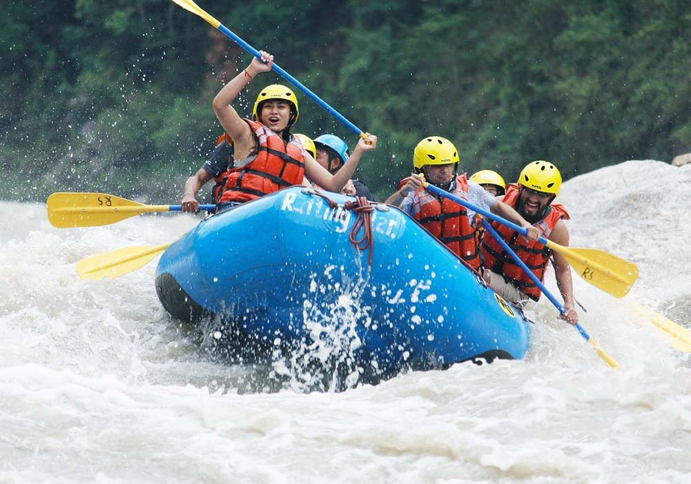 White Water River Rafting in Nepal - Things to do in Nepal