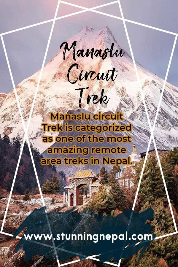 Manaslu Circuit Trek Ultimate Guide Pinterest