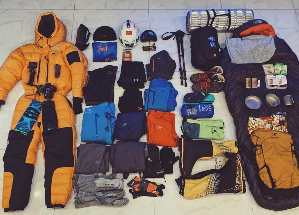 Manaslu Trekking Trekking Gear List