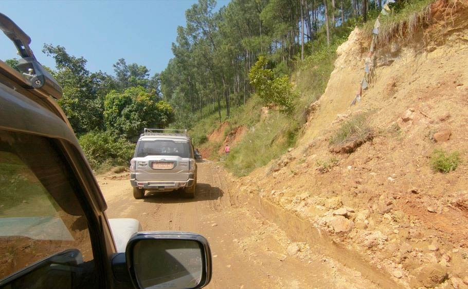 Private Jeep to Sotikhola
