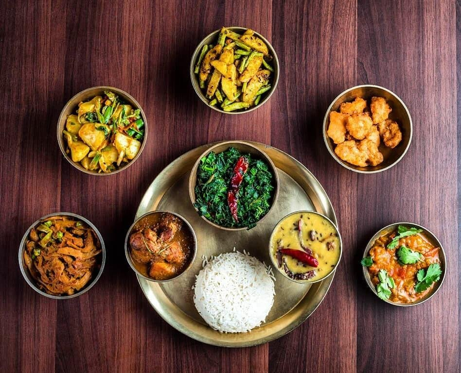 Thakali Khana Set - Best Nepalese Food